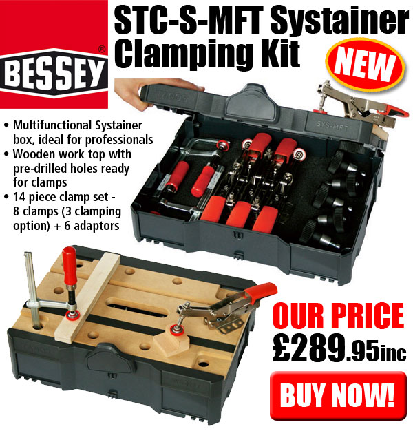 Bessety STC-S-MFT Systainer Clamping Kit - Buy Now £289.95inc