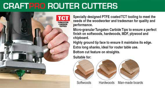 Craft Pro Router Cutters