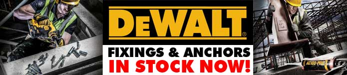 Dewalt Fixings and Anchors