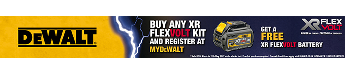 Get a FREE XR FLEXVOLT BATTERY