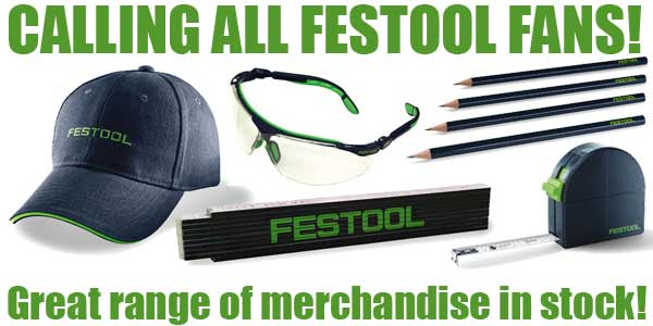 Festool Fan Merchandise NOW IN STOCK!