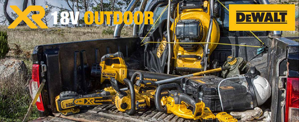 Dewalt Cordless Outdoor Equipment