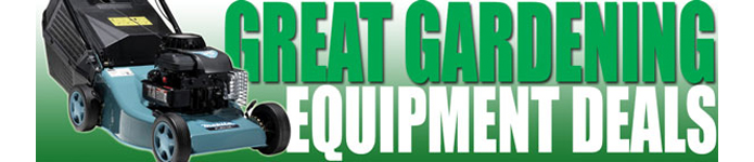 Great Gardening Equipment Deals