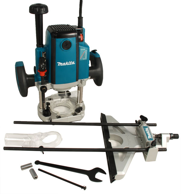 Makita Rp2301fcxk 240v 2100w 1 4 Amp 1 2inch Router With