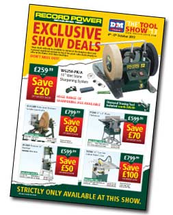 Record Power Show Deals Leaflet