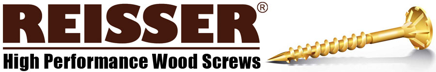 Reisser High Performance Wood Screws