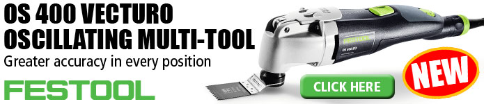 Festool OS 400 Vecturo Oscillating Tool - Click Here