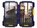 IRWIN  IRW10503993 JORAN PRO DRILL BIT SET 15PC £22.99 The Irwin 15 Piece Joran Professional Drill Bit Set Contains A Selection Of Straight Shank Drill Bits To Cover A Range Of Applications. Cordless Multi-purpose Drill Bits Can Drill Wood And Brickwork W