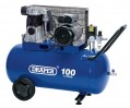 DRAPER 100L 230V 2.2kW BELT-DRIVEN AIR COMPRESSOR �429.95 Features: