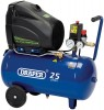 DRAPER 24L 230V 1.1kW OIL-FREE AIR COMPRESSOR �139.95 Features: