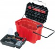 DRAPER Expert 740mm Mobile Tool Chest £79.95 Expert Quality, Tool Box On Heavy Duty Wheels Manufactured From Tough Durable Plastic With Integral Telescopic Transport Handle. Supplied With Tote Tray And Tool Box Lid With Strap For Holding A Spiri