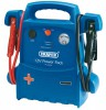 DRAPER 12V PORTABLE POWER PACK £109.95 Versatile Power Pack Ideal For Petrol Vehicles Up To 3000cc And Diesel Vehicles Up To 2400cc. On/off Power Switch, Voltmeter With Battery Charge And Reverse Polarity Indicators. Heavy Duty Booster Cab