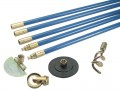 BAILEY  BAI1342 LOCKFAST 3/4IN DRAIN ROD SET 4 TOOLS £72.86 Lockfast Blue Polypropylene Drain Rod Set
