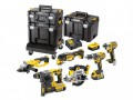DEWALT DCK654P3T XR Compact TSTAK­ Kit 6 Piece 18 Volt 3 x 5.0Ah Li-Ion £949.00 The Dewalt dck654p3t Xr Compact Tstak­™ Kit, Contains The Following: