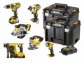 DEWALT DCK699M3T XR 6 Piece Kit 18 Volt 3 x 4.0Ah Li-Ion £769.95 The Dewalt Dck699m3t Xr 6 Piece Kit, Contains The Following: 