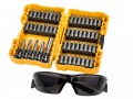 DEWALT DT71540 High Performance Brushless Screwdriving bit Set 53 Piec £16.99 The Dewalt Dt71540 High Performance Brushless Screwdriving Set Is An Impact Bit Set Suited To Impact Screwdrivers And Drill Drivers Alike. It Is Supplied In A Robust Small Tough Case For Safe Storage