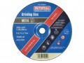 FAITHFULL  DEP CENTRE GRIND DISC 230X6X22 METAL FOR 5 £14.60