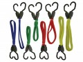 Faithfull Flat Bungee Cord Set of 8 £13.99 Faithfull Bungee Cords Make Tying Items Down Or In Bundles Easy. They Are Ideal For Use In The Home, Workshop, Garage, Car, Trailer And Caravan. They Are Up To 3 Times Stronger Than Standard Bungee Co