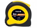 Fisco Tuf-Lok Hi Vis Tape Measure 8m / 26ft (Width 25mm) £6.99 The Fisco Tuf-lok Hi Vis Tape Measure Is A High Impact Shock Absorber Tape Measure With A Multi-protected, High Visibilty, Ergonomic Case. It Is Fitted With A Positive Action Brake, Effective Bump Sto