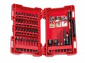 Milwaukee GEN II Shockwave Impact Duty Assorted Bit Set 40 Piece £29.99 Milwaukee Shockwave™ Impact Duty Driver Bits Are Engineered For Extreme Durability And Up To 10x Life. Made From Proprietary Steel And Heat Treated To Control Hardness, The Shockwave Impact Duty