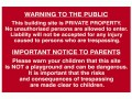 Scan Building Site Warning To Public And Parents - PVC 600 x 400mm £16.37 This Scan Safety Sign Is Made From 1mm Thick, Durable Pvc. Its Aggressive Water-based Adhesive Enables The Sign To Easily Stick On To And Remain On Any Wall. It Is Printed Using Uv Resistant Inks, Wh