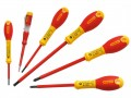 Stanley FatMax Screwdriver Set Insulated 6pce £24.99 The Stanley Fatmax Vde Insulated Screwdrivers Which Have A Vde Insulated Screwdriver Tip That Is Individually Tested To 10,000 Volts And Guaranteed To 1,000 Volts. The Soft-grip Handle Gives The Perfe