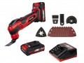 Einhell TE MG 18 LI Cordless Multi-functional Tool Kit 2 x 2.0Ah Li-ion £89.99 