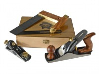 Faithfull Carpenters Tool Set in Wooden Presentation Box, 4 Piece £39.99
