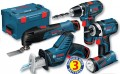 BOSCH 10. 8V PROFESSIONAL PROFESSIONAL KIT - 5 TOOLS + 3 X 1.5AH LI-ION BATTERIES ALL IN A L-BOXX was £369.95 £299.95 Bosch 10. 8v Professional Professional Kit - 5 Tools + 3 X 1.5ah Li-ion Batteries All In A L-boxx
