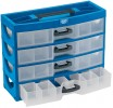 DRAPER Expert 4 Drawer Organiser �21.99 Expert Quality, Impact-resistant Polypropylene With Four Drawers Size 350 X 140 X 55mm Approx., Each Having Six Fixed Compartments Four Of Which Have Removeable Dividers. Plastic Drawer Handles With L
