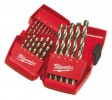 Milwaukee 4932352374 Thunderweb 19 Piece Ground Metal Drill Bit Set With Case £29.99 Milwaukee 4932352374 Thunderweb 19 Piece Ground Metal Drill Bit Set With Case