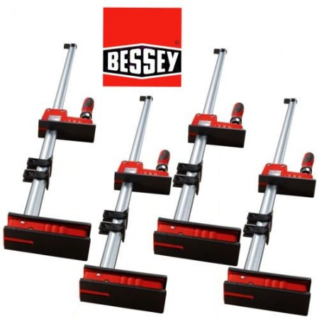 bessey kr80 krbody clamp 800mm box of 4 clamps