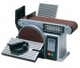 DRAPER 350W 230V BELT AND DISC SANDER £138.95 This Belt And Disc Sander Offers Complete Flexibility In The Home Workshop. The Mitre Gauge, Tilting Arm And Unique Upper Table Offer A Wide Variety Of Sanding Operations From Chamfers To Compound Mit