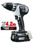 PANASONIC EY7443LS2G 14.4V 4.2Ah CORDLESS AUTO GEARBOX DRILL/DRIVER 2 x 4.2Ah BATTERIES was £279.95 £249.95