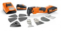 Fein AFMM18 18v Cordless Multimaster With 2 x 2.5Ah Batteries, Charger & Case £259.95