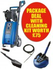 NILFISK-ALTO P150.2-10 X-TRA 240VOLT PRESSURE WASHER 150 BAR PACKAGE WITH PATIO CLEANING KIT WORTH �75.00 �339.95