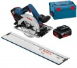 Bosch GKS 18 V-57 G 18V Cordless Circular Saw 165mm 2 x 5.0Ah, Charger & L-Boxx & 800mm Rail £389.95 Bosch Gks 18 V-57 G 18v Cordless Circular Saw 165mm 2 X 5.0ah, Charger & L-boxx