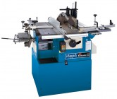 SCHEPPACH BEST COMBI 3.0 6-FUNCTION UNIVERSAL MACHINE 240V WITH MORTICE ATTACHMENT Save �200 + Free Carriage! �1,899.00