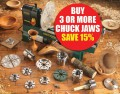 Record Power Chuck Jaw Offer - Buy 3 or more and Save 15% £101.97 Record Power Chuck Jaw Offer - Buy 3 Or More And Save 15%