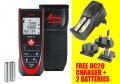 Leica Disto D2 Bluetooth Laser Distance Meter + UC20 Charger & Batteries £129.95 Leica Disto D2 Bluetooth Laser Distance Meter