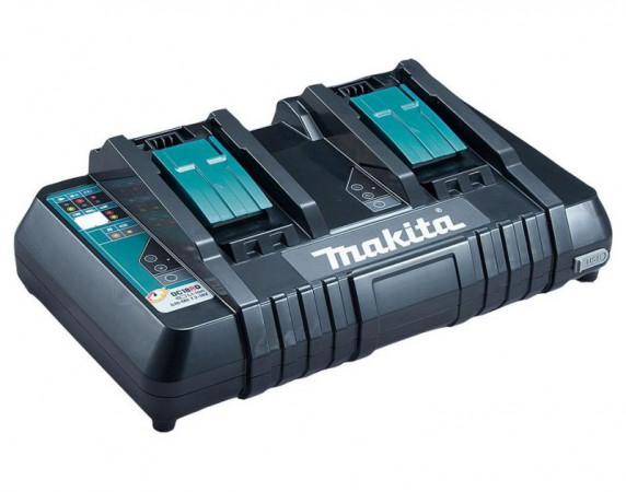 Makita DC18RD Twin Port Charger With USB Take Off