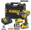 Dewalt DCD796D2B 18V Brushless G2 Hammer Drill Driver with 2 x 2.0Ah Bluetooth Packs £309.95 Dewalt Dcd796d2b 18v Brushless G2 Hammer Drill Driver With 2 X 2.0ah Bluetooth Packs And T-stak Case