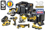 DeWALT DCK665P3T-GB 18V 5.0Ah 6 Piece Kit With 3 x 5.0Ah Batteries �819.95