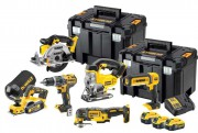 DeWALT DCK665P3T-GB 18V 5.0Ah 6 Piece Kit With 3 x 5.0Ah Batteries £859.95