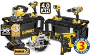 DeWalt DCK6KITA 18 Volt XR 6 Piece Kit 3 Speed 3 x 4.0Ah Li-Ion �895.00