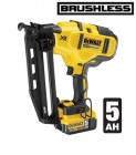 Dewalt DCN660P2 18V 16G Cordless Brushless Finish Nailer with 2 x 5.0Ah Li-ion Batteries, Charger & Case  �499.95