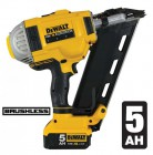 DEWALT DCN692P2 18V XRP 2-SPEED CORDLESS BRUSHLESS 90mm FRAMING NAILER 2 x 5.0Ah BATTERIES �409.95