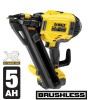 Dewalt DCN694P2 18V XR Brushless Cordless Metal Connect Nailer 2 x 5.0Ah Li-Ion Batteries, Charger & Case £599.95 Dewalt Dcn694p2 18v Xr Brushless Cordless Metal Connect Nailer 2 X 5.0ah Li-ion Batteries, Charger & Case
