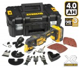 DEWALT DCS355M118V CORDLESS MULTI-TOOL WITH 1x 4.0Ah BATTERIES, CHARGER, CASE & 35 ACCESSORIES �209.95