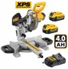 Dewalt 18V DCS365M2 184mm Cordless Mitre Saw with XPS with 2 x 4.0Ah Batteries £469.95 Dewalt 18v Dcs365m2 184mm Cordless Mitre Saw With Xps With 2 X 4.0ah Batteries